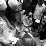 Delhi, Nizamuddin Dargah, jedzenie