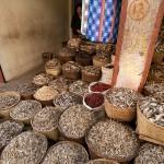 Bazar w Imphalu, suszone ryby
