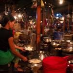 Restauracja na bazarze w Imphalu