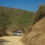 Na trasie Churachandpur - Singhat
