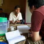 Khaikhy, Val rozmawia z nauczycielem