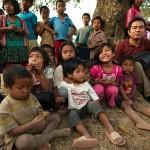 Val i dzieci w Supha