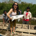 Zdechla ryba w rekach Mamte