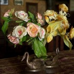 Lorrain Ville, kwiatki w salonie