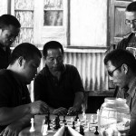 Saiha, partyjka w szachy