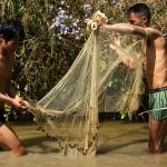Lungbun, lowimy ryby