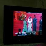 Transmisja slubu w tv