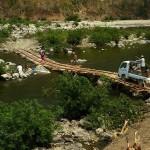 Lungbun, nowy most na rzece Kolodyne