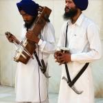 Amritsar, Sikhowie w Golden Temple