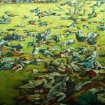 Amritsar, obrazek z masakrą Sikhów