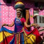 Kathputli Colony, Sharda, tancerka z Rajathanu